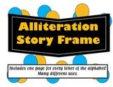 Alliteration Story Frames