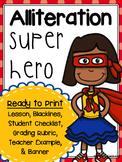 Alliteration Superhero Activity