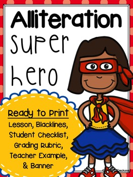 Alliteration Superhero Activity