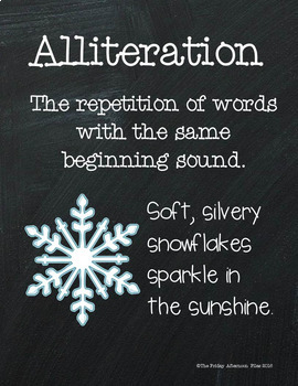 Alliteration: Winter Edition