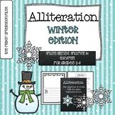 Alliteration: Winter Edition