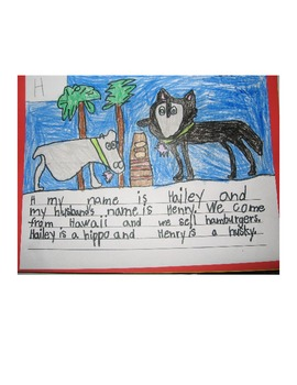 Alliteration Writing Activity/Class Book for Grades 2-5