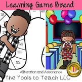 Alliteration and Assonance Figurative Language Learning Ga
