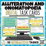 Alliteration and Onomatopoeia Digital Activities for Googl