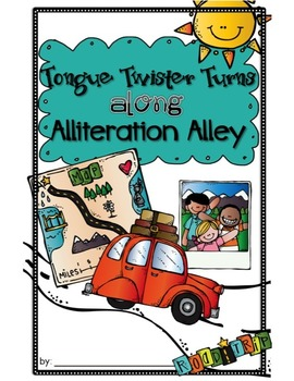 ALLITERATION and TONGUE TWISTERS Writing Prompt