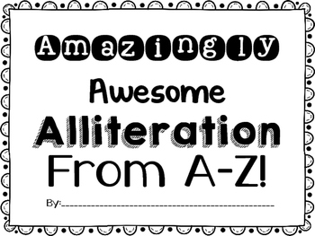 Alliteration from A to Z