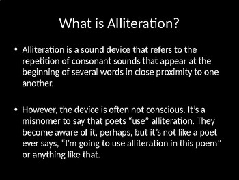 Alliteration in Poetry: What's the Point?