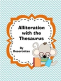 Alliteration using the Thesaurus