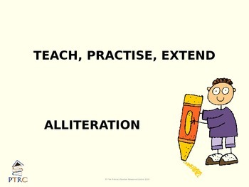 Alliteration Teaching PowerPoint