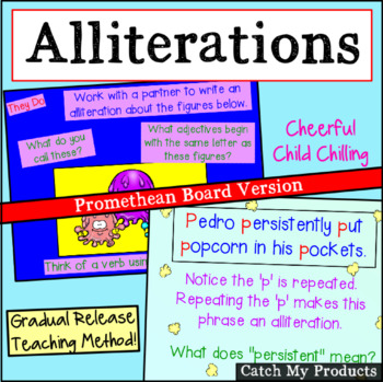 Alliterations Flipchart for Promethean Board Use