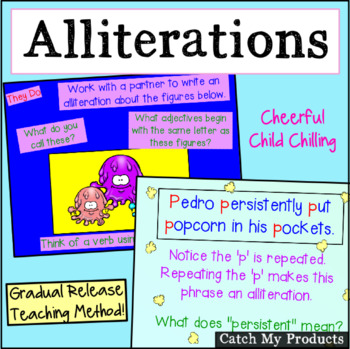 Figurative Language : Alliterations Power Point