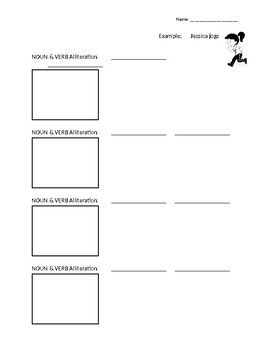 Alliterations and Tongue Twisters Activity
