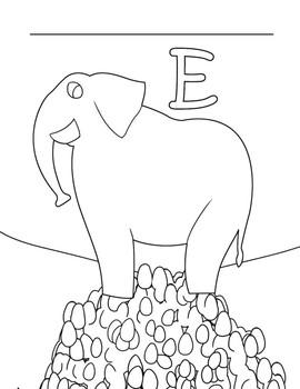 ABC Alliterative Fun with Animals
