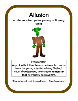 Allusion Writing Activity