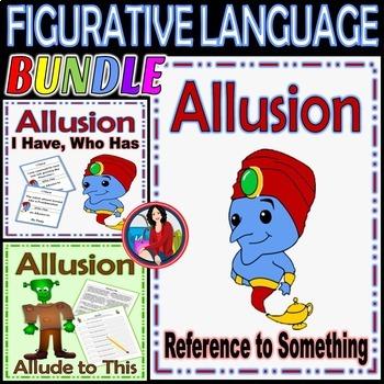 Allusion Figurative Language Bundle