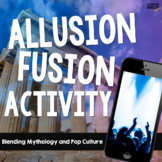 Allusion Fusion Activity with Mythology and Pop Culture