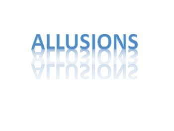 Allusion Notes