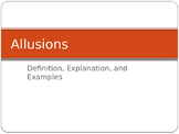 Allusion PowerPoint with Examples