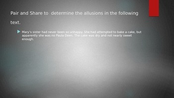 Allusion Practice PowerPoint