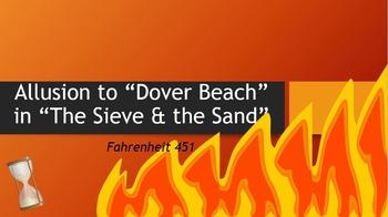 """Allusion to """"Dover Beach"""" in Fahrenheit 451"""