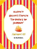 Allusion to Gulliver's Travels in Fahrenheit 451