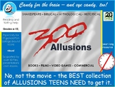 Allusions! A timely cheat sheet of 300 cultural literacy r