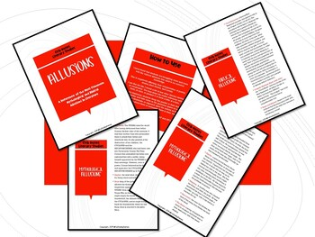 Allusions! (Crib Notes:  Literary Studies)
