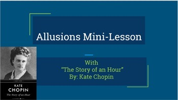 Allusions in Literature Unit Bundle- Allusion Lessons