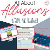 Allusions in Literature Unit - Digital and Printable - Distance Learning