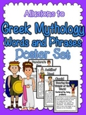 Allusions to Greek Mythology Poster Set:  CCSS RL.4.4