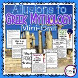 Allusions to Greek Mythology {CCSS RL.4.4}