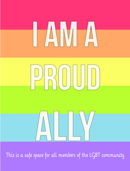 Ally Poster: Show your support for LGBT students!