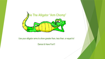 Ally The Alligator Arm Chomp Dance! Greater Than Less Than