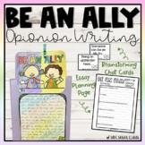 Ally / Upstander Essay Writing & Activities