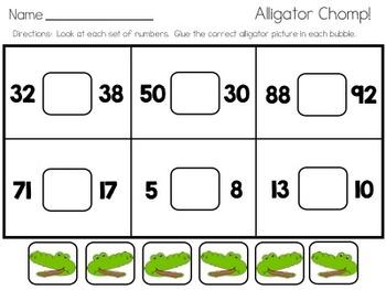 Ally the Alligator Activities