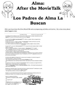 Alma MovieTalk Storytelling Lesson