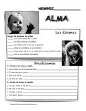"""Alma"" movie talk and follow up activities"
