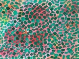 DISTANCE LEARNING! Alma Thomas Abstract Color Paintings w