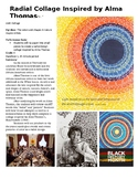Alma Thomas Inspired Collage for Black History Month