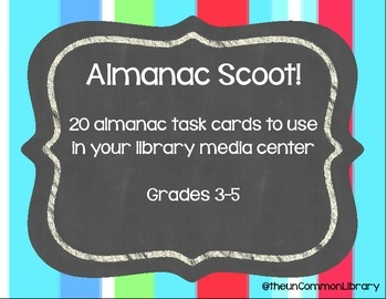 Almanac Scoot for your Library Media Center