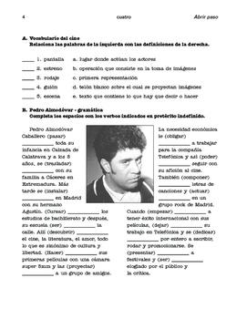 Almodóvar and García Lorca, Spanish cultural icons; 2 units - SP Inter. 2
