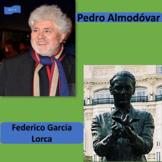 Almodóvar (1), García Lorca (2), Spanish cultural icons; -