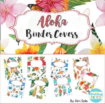 Aloha Binder Covers {Editable}