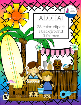 Aloha! Clip art