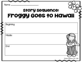 Aloha FREEBIE! - Froggy Goes to Hawaii