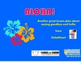 Aloha! Final lesson plan of the year