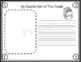 """""""Aloha"""" First Grade- End of Year Memory Book"""