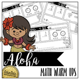 Aloha Math Warm Ups - Differentiated for 2 levels!