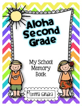 Aloha Second Grade Memory Book Freebie