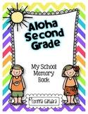 Aloha Second Grade Memory Book Freebie